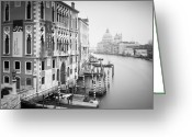Gondola Photo Greeting Cards - Canal Grande Study I Greeting Card by Nina Papiorek
