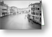 Gondola Photo Greeting Cards - Canal Grande Study II Greeting Card by Nina Papiorek