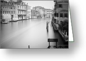 Veneto Greeting Cards - Canal Grande Study IV Greeting Card by Nina Papiorek