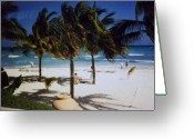 Vacationers Greeting Cards - Cancun Vacation Greeting Card by Marsha Heiken