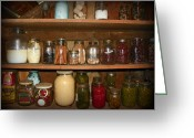 Ball Jar Greeting Cards - Canning Shed II Greeting Card by Sheri McLeroy