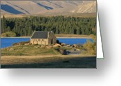 Lake Tekapo Greeting Cards - Cannot be Hid Greeting Card by Jan Lawnikanis