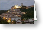 Latium Region Greeting Cards - Cantalice Greeting Card by Fabrizio Ruggeri