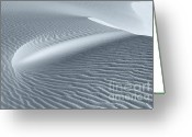 Sand Dunes Greeting Cards - Canvas of the Winds Greeting Card by Sandra Bronstein