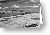 Puddle Greeting Cards - Canyonlands Puddles Greeting Card by Marilyn Hunt