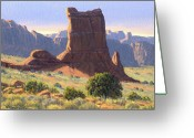 Four Corners Greeting Cards - Canyonlands Greeting Card by Randy Follis