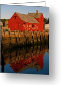 Rockport Ma Greeting Cards - Cape Ann Fishing Shack Greeting Card by Juergen Roth