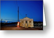 Shack Greeting Cards - Cape Cod Fish Market Greeting Card by John Greim