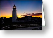 New England Lighthouse Greeting Cards - Cape Cod Light Greeting Card by Bill  Wakeley