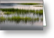 Scenic New England Greeting Cards - Cape Cod Marsh Greeting Card by Bill  Wakeley