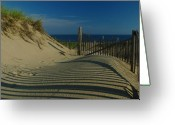 Photography Greeting Cards - Cape Cod National Seashore Greeting Card by Juergen Roth
