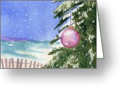 Cape Greeting Cards - Cape Cod Ornament Greeting Card by Joseph Gallant