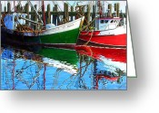 Conservationists Greeting Cards - Cape Cod Paintings  Greeting Card by Michael Cranford