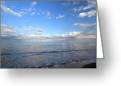 Nauset Beach Greeting Cards - Cape Cod Summer Sky Greeting Card by Juergen Roth
