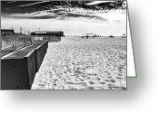 Cape May Nj Photo Greeting Cards - Cape May Beach Day Greeting Card by John Rizzuto