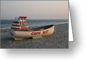 Cape May Nj Photo Greeting Cards - Cape May Calm Greeting Card by Gordon Beck