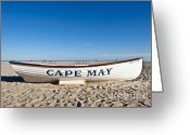 Cape May Nj Photo Greeting Cards - Cape May Greeting Card by John Greim