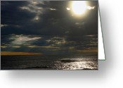 Kevin Sherf Greeting Cards - Cape May New Jersey the Rips Greeting Card by Kevin  Sherf