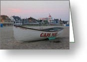 Cape May Nj Photo Greeting Cards - Cape May Remembered Greeting Card by Gordon Beck