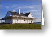 Back Porch Greeting Cards - Cape Otway, Victoria, Australia Greeting Card by Peter Walton Photography