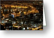 Centre Greeting Cards - Cape Town Greeting Card by Fabrizio Troiani