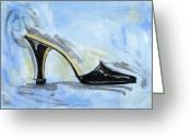 High Heels Greeting Cards - Capri Greeting Card by Richard De Wolfe