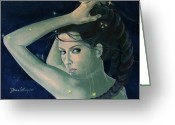 Zodiac Greeting Cards - Capricorn from Zodiac series Greeting Card by Dorina  Costras
