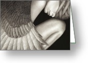Edgy Greeting Cards - Captivity Greeting Card by Pat Erickson