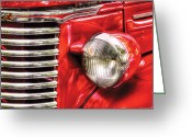 Classic Auto Greeting Cards - Car - Chevrolet Greeting Card by Mike Savad
