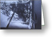 Photorealism Greeting Cards - Car2 Greeting Card by Jeffrey Babine