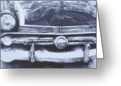 Photorealism Greeting Cards - Car3 Greeting Card by Jeffrey Babine