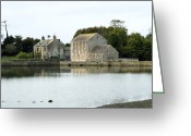 Tidal River Greeting Cards - Carew Mill, Pembrokeshire, Wales, Uk Greeting Card by Sheila Terry