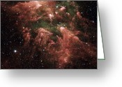 Carina Nebula Greeting Cards - Carina Nebula Greeting Card by Stocktrek Images