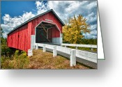 Bridge Greeting Cards - Carlton Bridge Greeting Card by Fred LeBlanc