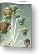 Faded Greeting Cards - Carnivale Greeting Card by Andrew Paranavitana