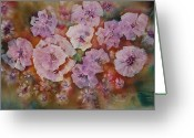 Loose Panicles Greeting Cards - Carolina Beauty Greeting Card by Don  Wright