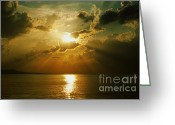 Sunrise Greeting Cards - Carpe Diem Greeting Card by Andrew Paranavitana