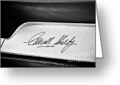 Carroll Shelby Photo Greeting Cards - Carroll Shelby Signature Greeting Card by Andrew  Cragin