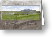 Lewistown Greeting Cards - Carters Pond Greeting Card by Susan Kinney