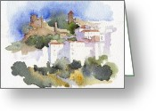 Casares Greeting Cards - Casares 1 Greeting Card by Stephanie Aarons