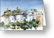 Casares Greeting Cards - Casares 2 Greeting Card by Stephanie Aarons