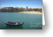 House Greeting Cards - Cascais Greeting Card by Carlos Caetano