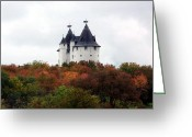 Kay Sawyer Greeting Cards - Castle Gwynn Greeting Card by Kay Sawyer