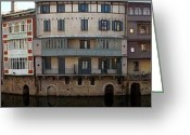 Panoramique Greeting Cards - Castres Greeting Card by K Telle