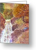 At Work Greeting Cards - Catching The Last Light Greeting Card by Marilyn Smith