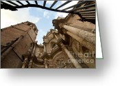 Baroque Greeting Cards - Catedral de Valencia Greeting Card by Fabrizio Troiani