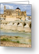 Historical Site Greeting Cards - Cathedral Mosque in Cordoba Greeting Card by Artur Bogacki