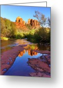 Az Greeting Cards - Cathedral Rock Sedona Greeting Card by Matt Suess