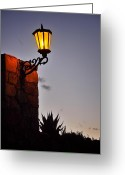 Luz Greeting Cards - Catorce Luz Greeting Card by Skip Hunt