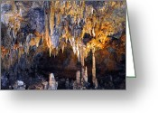 Cavern Greeting Cards - Cavern Fever Greeting Card by Lynda Lehmann